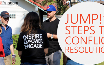 JUMP!'s Steps to Conflict Resolution