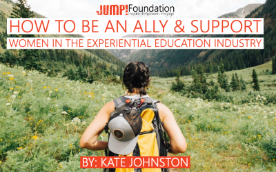 How to be an Ally and Support Women in Outdoor Education