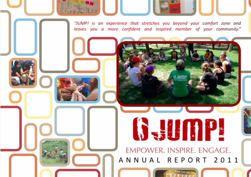 JUMP! Foundation Annual Report 2011