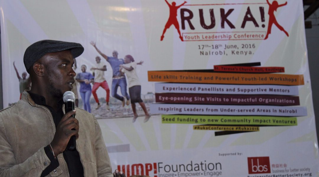 Ruka Inspires youth in Nairobi to Shape Their Destiny